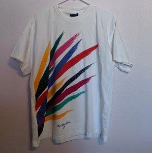 Vintage 90s Scandinavian Bo Bendixen Graphic Shirt